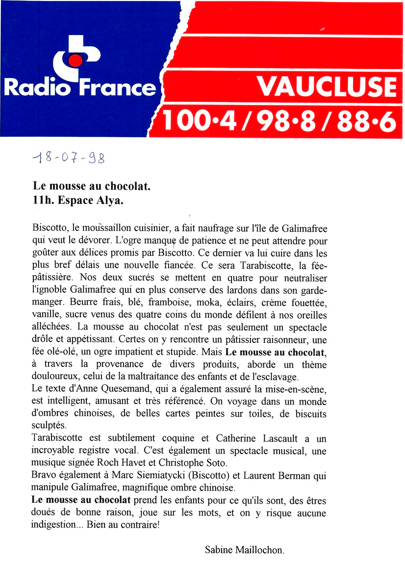 Le Mousse Radio France Vaucluserecadrée